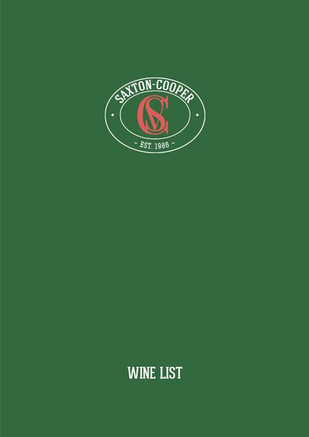 Wine Brochure 2018