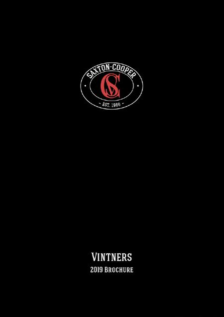 Wine 2019 Brochure